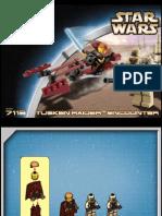 LEGO Tusken Raider Encounter Instruction Manual 7113