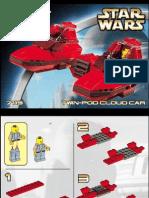 LEGO Twin-Pod Cloud Car Instruction Manual 7119