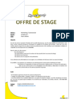 Offre Stage Moonscoop