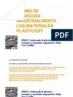 Produccion Industrial de Plasticos