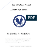 A2 Applied ICT Major Project Booklet