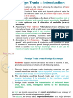 Unit 5 - Foreign Trade & Exchange Rate