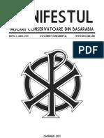 Manifestul Miscarii Conservatoare Din Republica Moldova