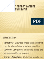 Derivatives Market India