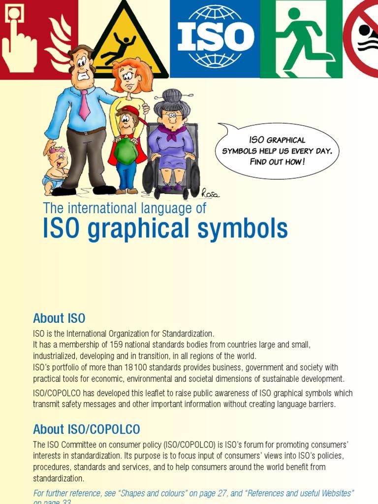 Graphical Symbols Booklet International Organization For
