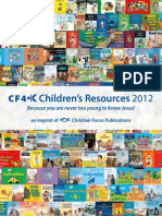 CF4K Children's Resources Catalog 2012