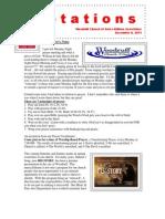 Bulletin 12.6.11