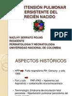 HIPERTENSIÓN PULMONAR PERSISTENTE DEL RECIÉN NACIDO