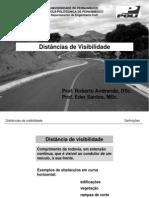 Estradas 1 Distancia de Visibilidade