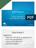 2.2 - Cube Analyst II