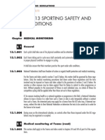 Part 13 Sporting Safety and Conditions