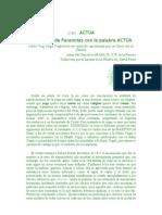 (2 de)     ACTUA