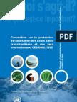 Convention sur la protection et l'utilisation des cours d'eau transfrontalières et des lacs internationaux (CEE-ONU, 1992)
