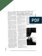 La Jornada Patricia Vega Con Tríptico Perverso en la perversión está el gusto 1996