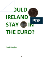 Should Ireland Stay in Euro