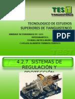 4.2.7 Sistemas de regulación y protección (1)