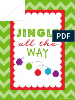 Holiday Printable Poster - FREE 11x14 by Fresh Chick Design Studio