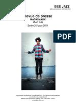 """Revue de presse de l'album """"Short Cuts"""" de Magic Malik (BEE043)"""