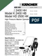 Karcher K2400HH Pressure Washer