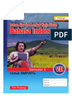 BHS IND SMP 7 Semester 2 Penulis MGMP Bahasa Indonesia Bukittinggi