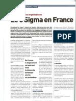 6 Sigma en France