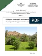 Les plantes aromatiques, médicinales et tinctoriales:Un atout pour le développement rural dans la région de Tata?