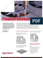 Hypertherm FineCut Consumables