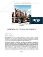 Searching for the Real South Beach