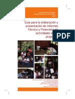 Guía para la elaboración y presentación de informes