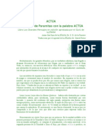 (1 de) ACTUA