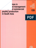 Good Practices in Planning and Management of Integrated Commercial Poultry