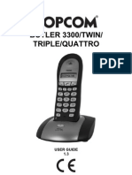 Butler 3300 Twin Triple Quattro UK