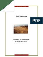 Les causes et les conséquences de la désertification