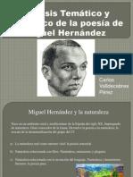 Temas de Miguel Hernández