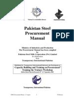 Procurement Manual PSML