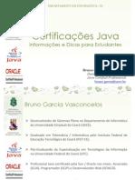 Certificacoes Java