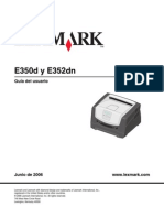 Manual de Impresora e352dn