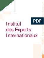 Article Expertise Internationnale 71