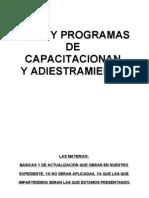 Planes y Prog. a. Universales II.