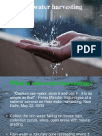 Rain Water Harvesting Final
