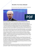 Euro Peut Il Sortir de La Crise article du monde du 8 décembre 2011