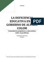 EDUCACION EN GUATEMALA