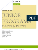 ELS Junior Programs 2012 Brochure