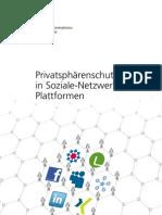 Privatsphärenschutz in Soziale-Netzwerke- Plattformen