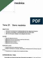 Capitulo 27 Sierra Mecanica