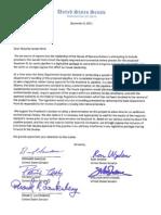 Letter to Majority Leader Reid on Keystone XL