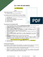 3ESO T1 Ejercicios Qcad 0809