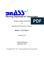 BrassCulvert-2.3.2-TechnicalManual