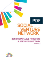 SVN 2011 Sustainable Products & Services Directory