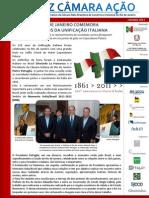 LCA 2011 PT Ed. 006 - 150 Anos da Unificação Italiana
